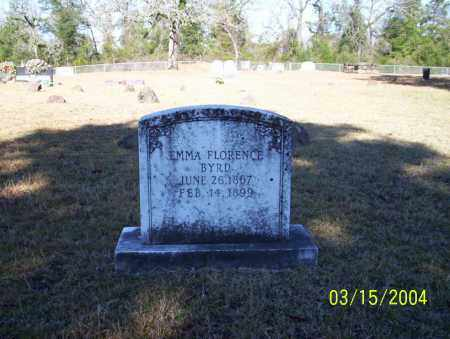 BYRD, EMMA FLORENCE - Nevada County, Arkansas | EMMA FLORENCE BYRD - Arkansas Gravestone Photos