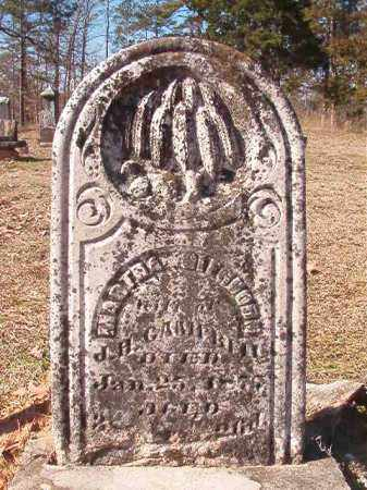 CAMPBELL, MARTHA - Nevada County, Arkansas | MARTHA CAMPBELL - Arkansas Gravestone Photos