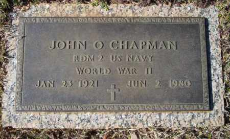 CHAPMAN  (VETERAN WWII), JOHN O. - Nevada County, Arkansas | JOHN O. CHAPMAN  (VETERAN WWII) - Arkansas Gravestone Photos