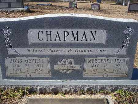 CHAPMAN, MERCEDES JEAN - Nevada County, Arkansas | MERCEDES JEAN CHAPMAN - Arkansas Gravestone Photos