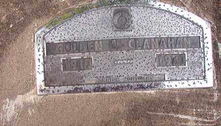 CLANAHAN, GOLDEN C - Nevada County, Arkansas | GOLDEN C CLANAHAN - Arkansas Gravestone Photos