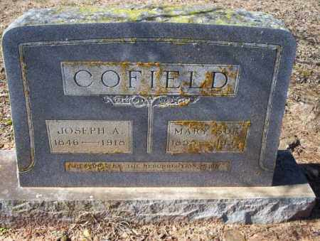 COFIELD, JOSEPH A - Nevada County, Arkansas | JOSEPH A COFIELD - Arkansas Gravestone Photos