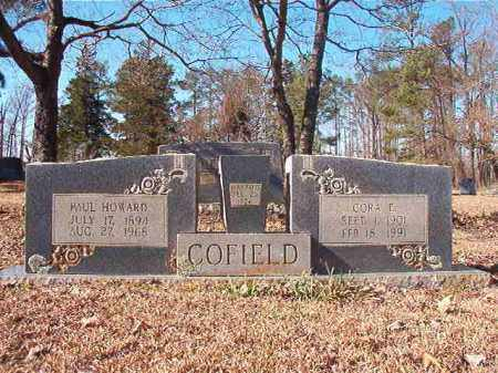 COFIELD, CORA E - Nevada County, Arkansas | CORA E COFIELD - Arkansas Gravestone Photos
