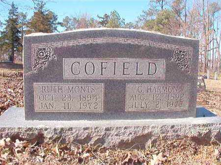 COFIELD, G HARMON - Nevada County, Arkansas | G HARMON COFIELD - Arkansas Gravestone Photos
