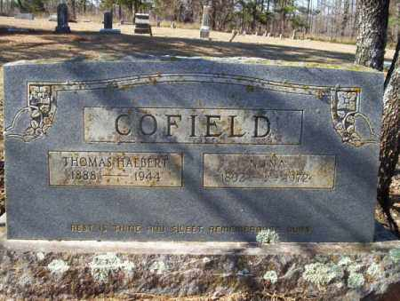 COFIELD, THOMAS HALBERT - Nevada County, Arkansas | THOMAS HALBERT COFIELD - Arkansas Gravestone Photos
