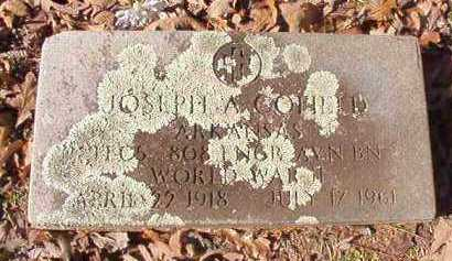 COFIELD (VETERAN WWII), JOSEPH A - Nevada County, Arkansas | JOSEPH A COFIELD (VETERAN WWII) - Arkansas Gravestone Photos