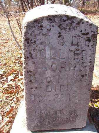 COLLIER, JAMES ALBERT - Nevada County, Arkansas | JAMES ALBERT COLLIER - Arkansas Gravestone Photos