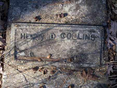 COLLINS, HENRY D - Nevada County, Arkansas | HENRY D COLLINS - Arkansas Gravestone Photos