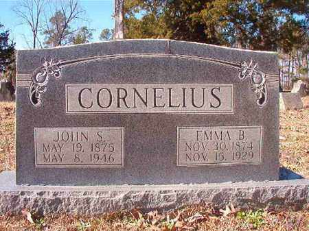CORNELIUS, EMMA B - Nevada County, Arkansas | EMMA B CORNELIUS - Arkansas Gravestone Photos