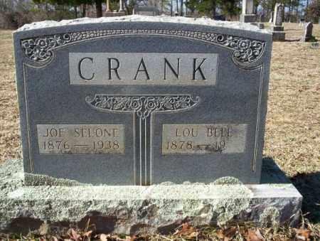 CRANK, LOU BELLE - Nevada County, Arkansas | LOU BELLE CRANK - Arkansas Gravestone Photos
