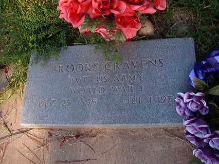 CRAVENS (VETERAN WWI), BROOKS - Nevada County, Arkansas | BROOKS CRAVENS (VETERAN WWI) - Arkansas Gravestone Photos