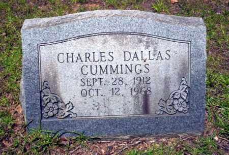 CUMMINGS, CHARLES DALLAS - Nevada County, Arkansas | CHARLES DALLAS CUMMINGS - Arkansas Gravestone Photos