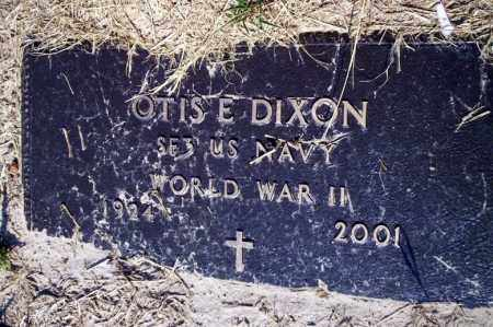 DIXON (VETERAN WWII), OTIS E - Nevada County, Arkansas | OTIS E DIXON (VETERAN WWII) - Arkansas Gravestone Photos