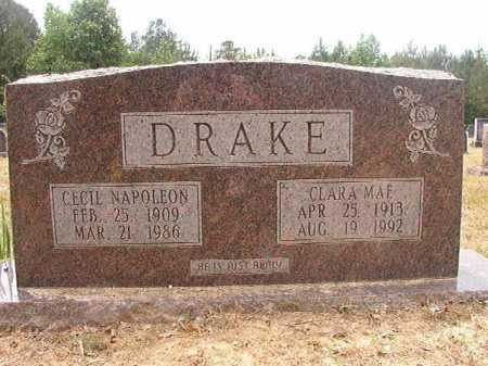 DRAKE, CLARA MAE - Nevada County, Arkansas | CLARA MAE DRAKE - Arkansas Gravestone Photos