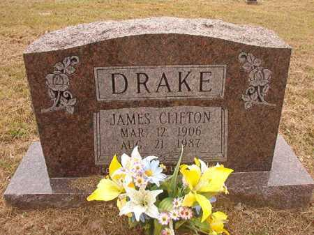 DRAKE, JAMES CLIFTON - Nevada County, Arkansas | JAMES CLIFTON DRAKE - Arkansas Gravestone Photos