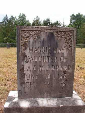 DRAKE, MAGGIE MAY - Nevada County, Arkansas | MAGGIE MAY DRAKE - Arkansas Gravestone Photos