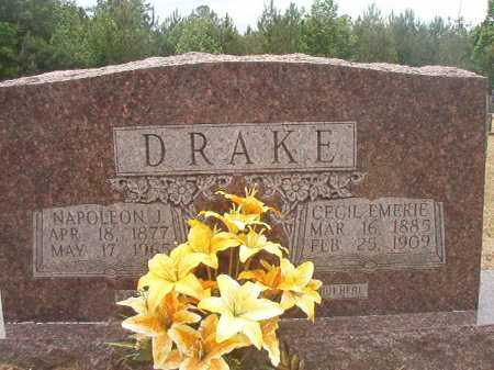DRAKE, NAPOLEON J - Nevada County, Arkansas | NAPOLEON J DRAKE - Arkansas Gravestone Photos