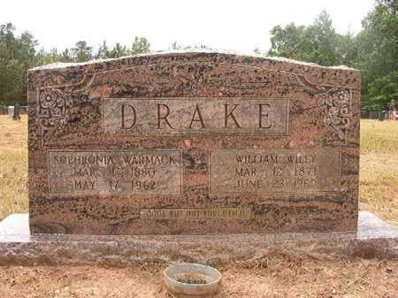 DRAKE, WILLIAM WILEY - Nevada County, Arkansas | WILLIAM WILEY DRAKE - Arkansas Gravestone Photos