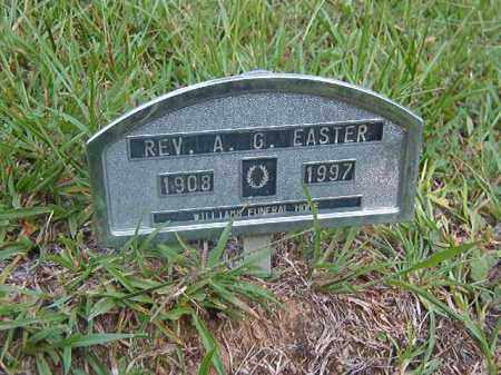 EASTER, REV, A G - Nevada County, Arkansas | A G EASTER, REV - Arkansas Gravestone Photos