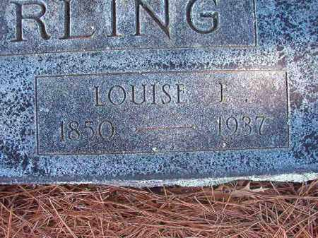 EASTERLING, LOUISE J - Nevada County, Arkansas | LOUISE J EASTERLING - Arkansas Gravestone Photos