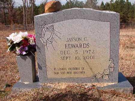 EDWARDS, JAYSON C - Nevada County, Arkansas | JAYSON C EDWARDS - Arkansas Gravestone Photos
