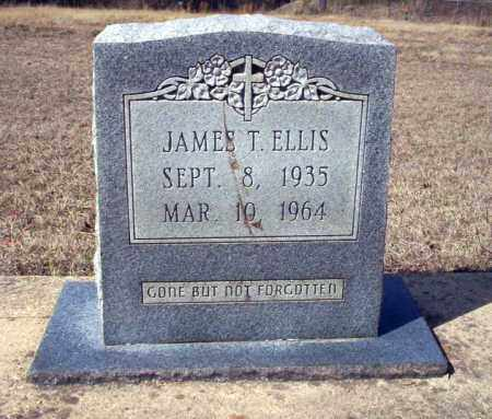 ELLIS, JAMES T - Nevada County, Arkansas | JAMES T ELLIS - Arkansas Gravestone Photos