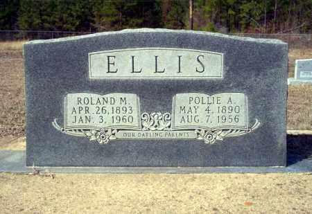 ELLIS, POLLIE A - Nevada County, Arkansas | POLLIE A ELLIS - Arkansas Gravestone Photos