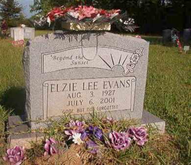 EVANS, ELZIE LEE - Nevada County, Arkansas | ELZIE LEE EVANS - Arkansas Gravestone Photos
