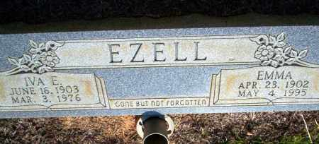 EZELL, IVA A - Nevada County, Arkansas | IVA A EZELL - Arkansas Gravestone Photos