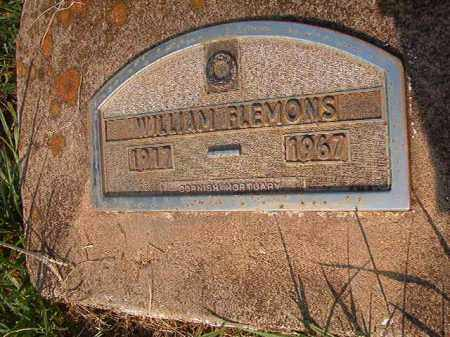 FLEMONS, WILLIAMS - Nevada County, Arkansas | WILLIAMS FLEMONS - Arkansas Gravestone Photos