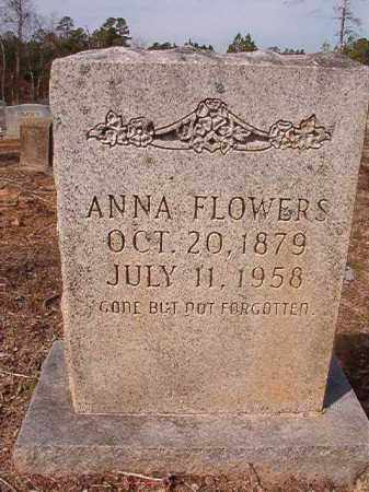 FLOWERS, ANNA - Nevada County, Arkansas | ANNA FLOWERS - Arkansas Gravestone Photos