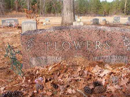 FLOWERS, JOHN AUGUSTA - Nevada County, Arkansas | JOHN AUGUSTA FLOWERS - Arkansas Gravestone Photos
