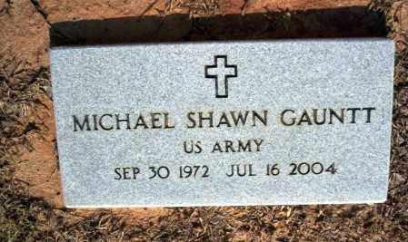 GAUNTT  (VETERAN), MICHAEL SHAWN - Nevada County, Arkansas | MICHAEL SHAWN GAUNTT  (VETERAN) - Arkansas Gravestone Photos