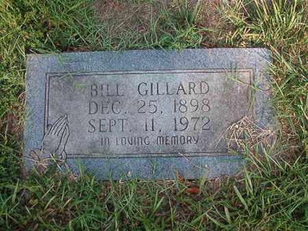 GILLARD, BILL - Nevada County, Arkansas | BILL GILLARD - Arkansas Gravestone Photos