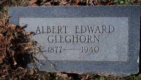 GLEGHORN, ALBERT EDWARD - Nevada County, Arkansas | ALBERT EDWARD GLEGHORN - Arkansas Gravestone Photos