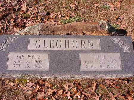 GLEGHORN, SAM WYLIE - Nevada County, Arkansas | SAM WYLIE GLEGHORN - Arkansas Gravestone Photos