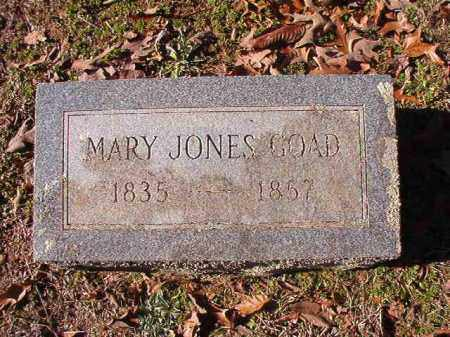 GOAD, MARY - Nevada County, Arkansas | MARY GOAD - Arkansas Gravestone Photos