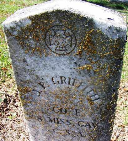 GRIFFITH (VETERAN CSA), JOHN PERRY - Nevada County, Arkansas | JOHN PERRY GRIFFITH (VETERAN CSA) - Arkansas Gravestone Photos