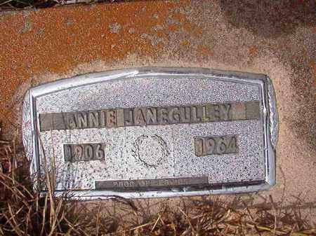 GULLEY, ANNIE JANE - Nevada County, Arkansas | ANNIE JANE GULLEY - Arkansas Gravestone Photos