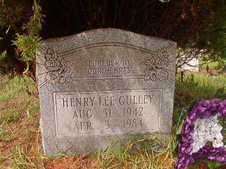GULLEY, HENRY LEE - Nevada County, Arkansas | HENRY LEE GULLEY - Arkansas Gravestone Photos