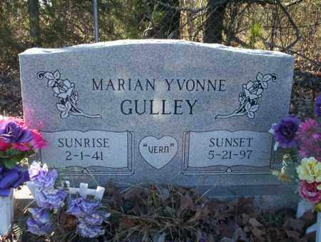 GULLEY, MARIAN YVONNE - Nevada County, Arkansas | MARIAN YVONNE GULLEY - Arkansas Gravestone Photos