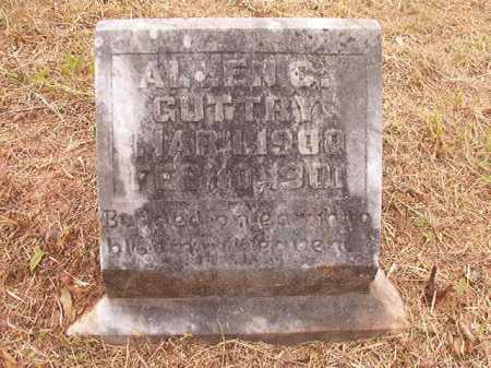GUTTRY, ALLEN C - Nevada County, Arkansas | ALLEN C GUTTRY - Arkansas Gravestone Photos