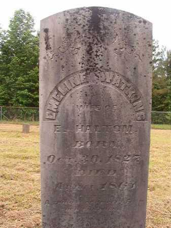 HALTOM, EMELINE - Nevada County, Arkansas | EMELINE HALTOM - Arkansas Gravestone Photos