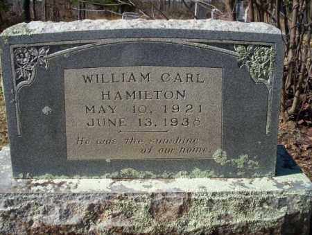HAMILTON, WILLIAM CARL - Nevada County, Arkansas | WILLIAM CARL HAMILTON - Arkansas Gravestone Photos