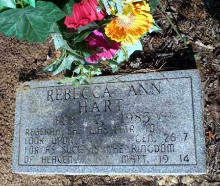 HART, REBECCA ANN - Nevada County, Arkansas | REBECCA ANN HART - Arkansas Gravestone Photos