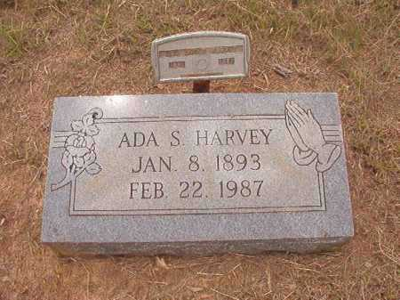 HARVEY, ADA S - Nevada County, Arkansas | ADA S HARVEY - Arkansas Gravestone Photos