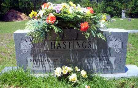 HASTINGS, MYRTLE - Nevada County, Arkansas | MYRTLE HASTINGS - Arkansas Gravestone Photos