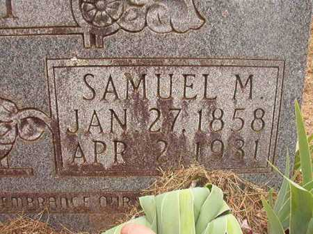 HAY, SAMUEL M - Nevada County, Arkansas | SAMUEL M HAY - Arkansas Gravestone Photos
