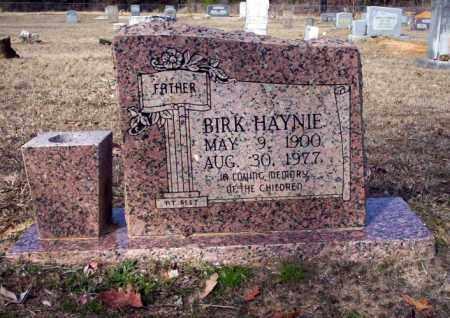HAYNIE, BIRK - Nevada County, Arkansas | BIRK HAYNIE - Arkansas Gravestone Photos