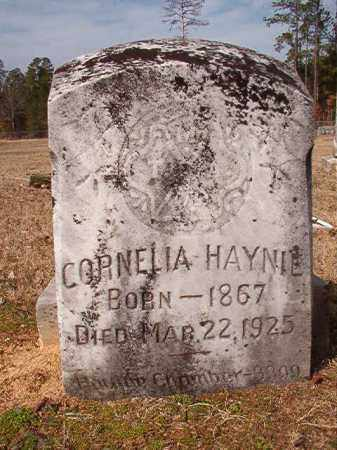 HAYNIE, CORNELIA - Nevada County, Arkansas | CORNELIA HAYNIE - Arkansas Gravestone Photos